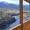 Flying Pig - Cabin & Home Rentals near Yellowstone - Select from riverfront cabins and lodge rooms or large mountaintop rental homes (sleep 6-15+). Can combine with breakfast, dinner & activities through our booking service.