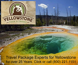 Yellowstone Tour & Travel - full service agency - Representing the best lodging establishments throughout the Yellowstone region. With more than 25 years experience packaging lodging, transportation and family activities, let us build your next Yellowstone family vacation.