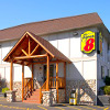 Super 8 Cody - always pet friendly - Located in the heart of Cody's downtown among restaurants, attractions & shopping. Only 50 miles east of Yellowstone. Senior & group discounts. One, two or three-bed rooms.