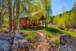 Budges' Slide Lake Cabins - on the lake