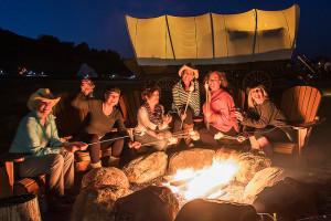 Rendezvous Glamping Wagons - fun family camping