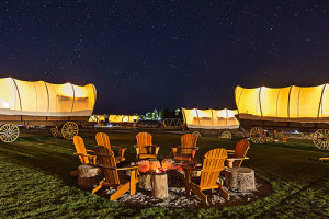 Rendezvous Glamping Wagons | Ranch Vacations