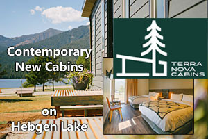 Terra Nova Cabins - on Hebgen Lake's north shore